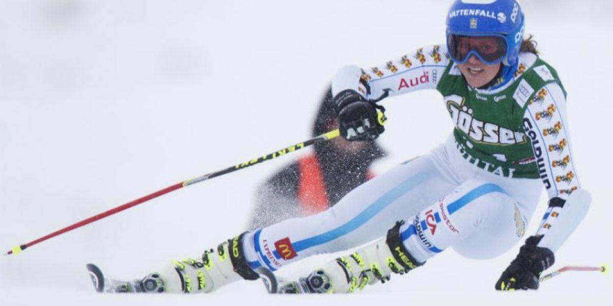 FOTOS. La más veloz en la nieve