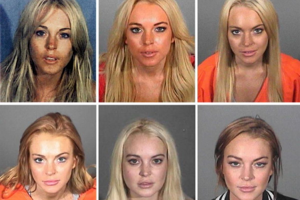 Lindsay Lohan, cliente frecuente Foto:Getty Images