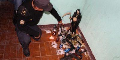 Policía allana casa donde realizaban un ritual