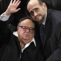Roberto Gómez Bolaños y Edgar Vivar. Foto:facebook.com/edgarvivaroficial