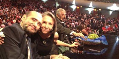 Edgar Vivar, Florinda Meza y Rubén Aguirre. Foto:facebook.com/edgarvivaroficial