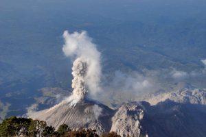 En Quetzaltenango también hay alerta. Foto:Conred