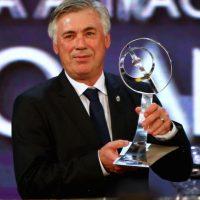 Ancelotti, orgulloso del trabajo hecho con el club merengue. Foto:AFP