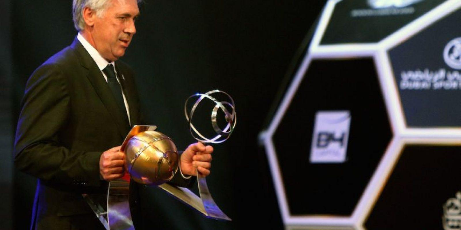 El italiano sustituyó al portugués José Mourinho en el banco merengue Foto:AFP