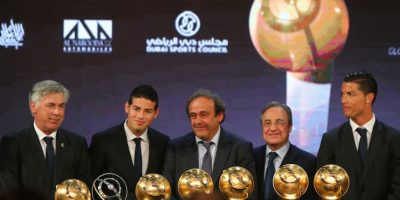 Todos los ganadores del Real Madrid. Foto:AFP