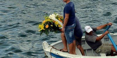 Bote de migrantes en Lampedusa, Italia: El 3 de octubre de 2013, una embarcación con migrantes libaneses se hundió frente a la isla italiana de Lampedusa. Foto:Getty Images