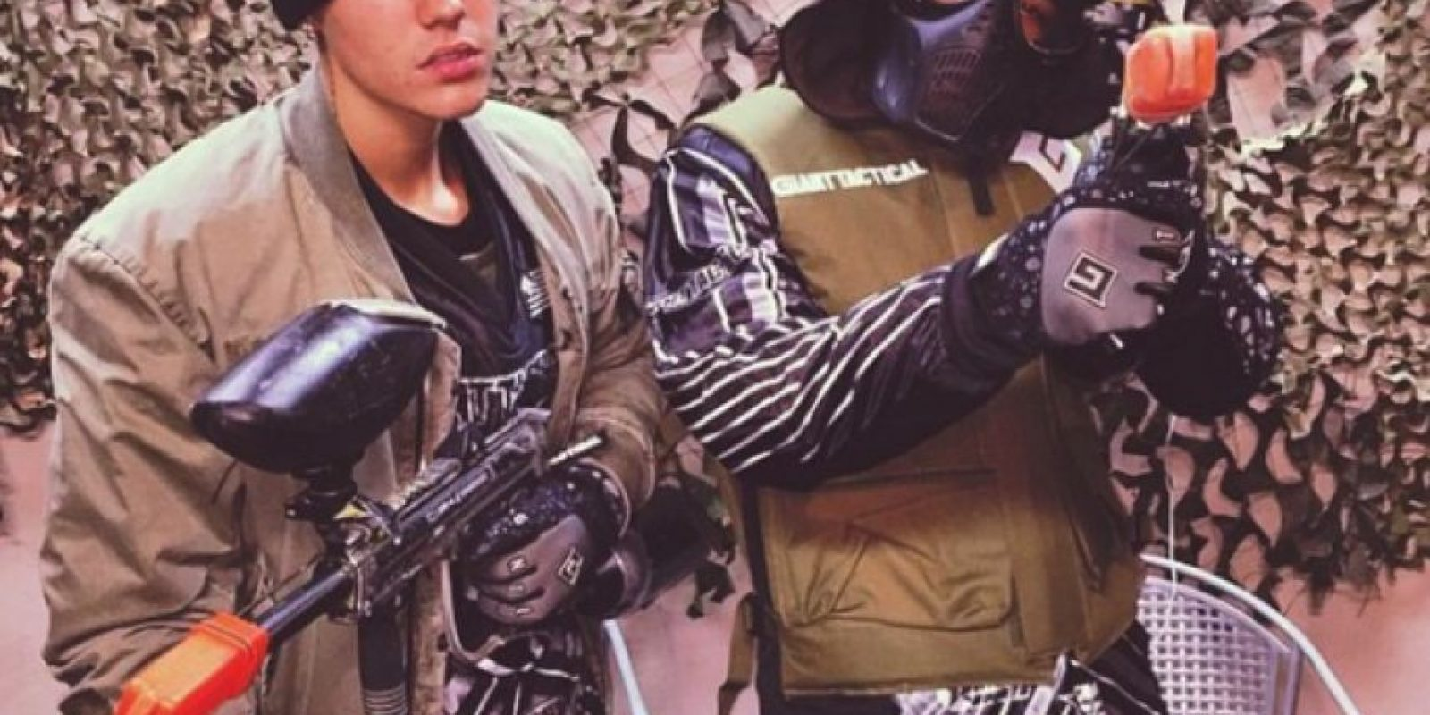 Junto a su equipo de producción sale de paseo, juega baloncesto y gotcha Foto:Instagram/Justin Bieber