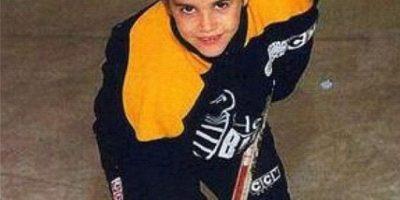 """Cuando era niño usaba un corte similar al de Jim Carrey en el filme """"Una pareja de idiotas"""". Foto:Instagram/Justin Bieber"""