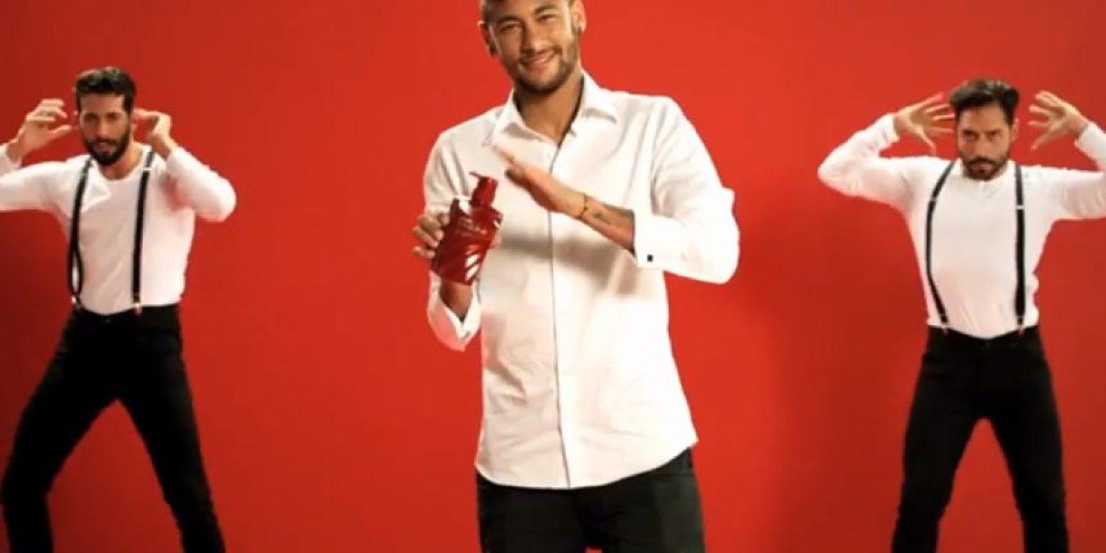El brasileño realizó un comercial para la marca Angfa Foto:Youtube: angfaOfficial