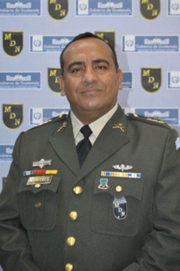El nuevo portavoz del Ejército, el coronel Hugo Rodríguez. Foto:Dide