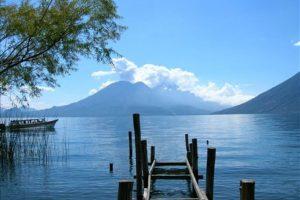 Lago Atitlán, en Sololá. Foto:Publinews