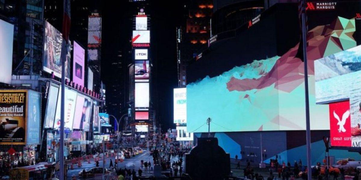 Times Square se prepara para el Año Nuevo