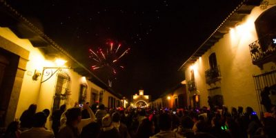 De fiesta en La Antigua Guatemala. Foto:Publinews