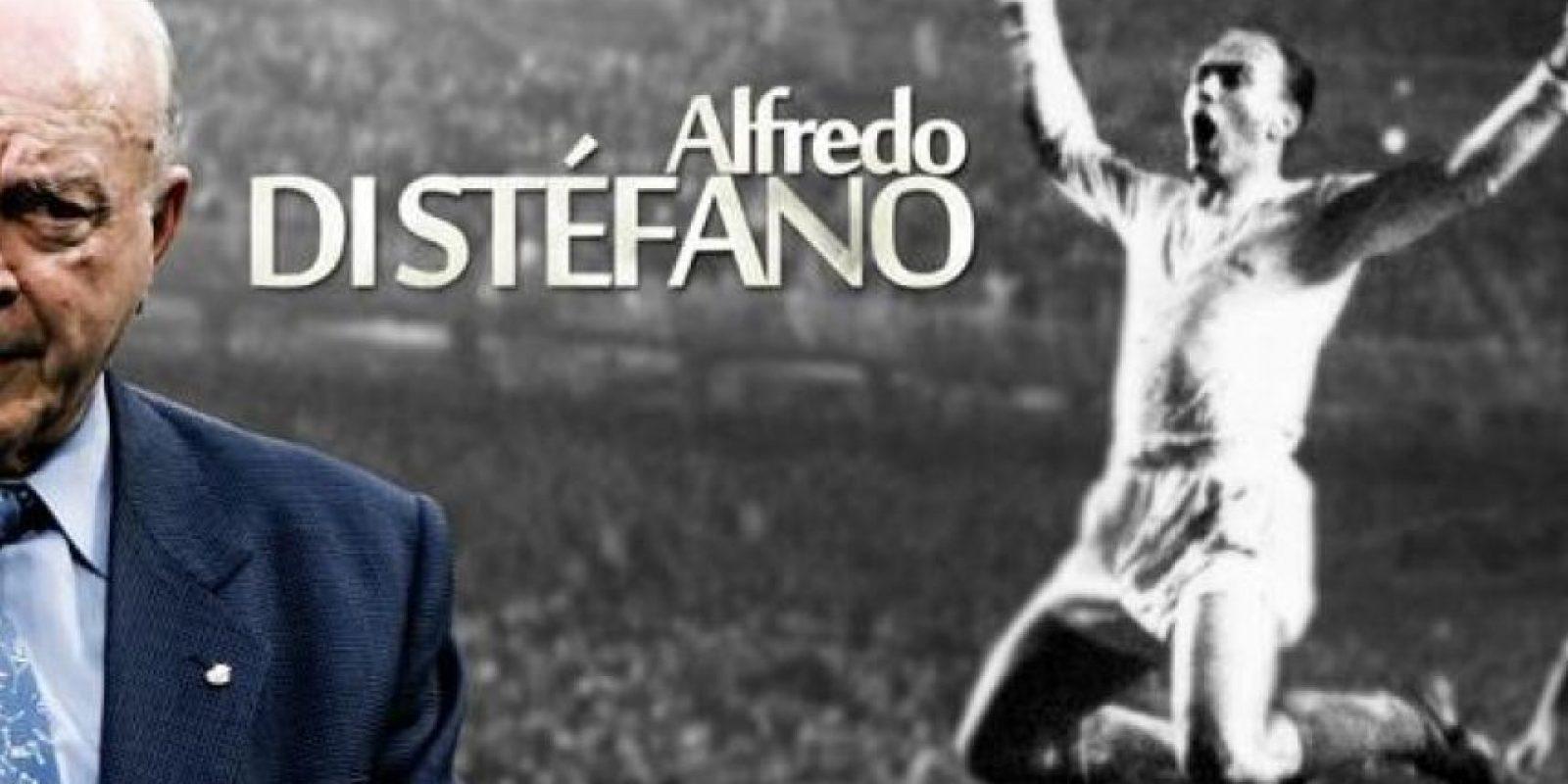 """ALFREDO DI STÉFANO (88 años), eximio futbolista y entrenador hispano-argentino. Su historia estaba íntimamente ligada a la del Real Madrid, con el que ganó cinco Copas de Europa consecutivas de 1956 a 1960. Vistió la """"Albiceleste"""", la """"Roja"""" e incluso la """"Cafetera"""" en algunos amistosos, pero no pudo disputar nunca un Mundial. Foto:Publinews"""