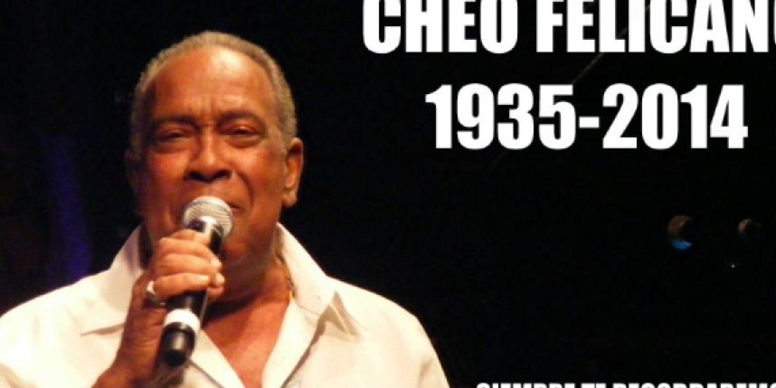 """JOSÉ """"CHEO"""" FELICIANO (78 años), legendario cantante puertorriqueño de salsa y bolero. Inmortalizó canciones como """"El ratón"""", """"Anacaona"""" y """"Amada mía"""", convertidas en grandes clásicos de la música bailable caribeña. Foto:Publinews"""