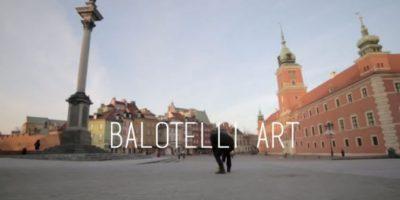 VIDEO: Artista pinta el rostro de Mario Balotelli con balonazos