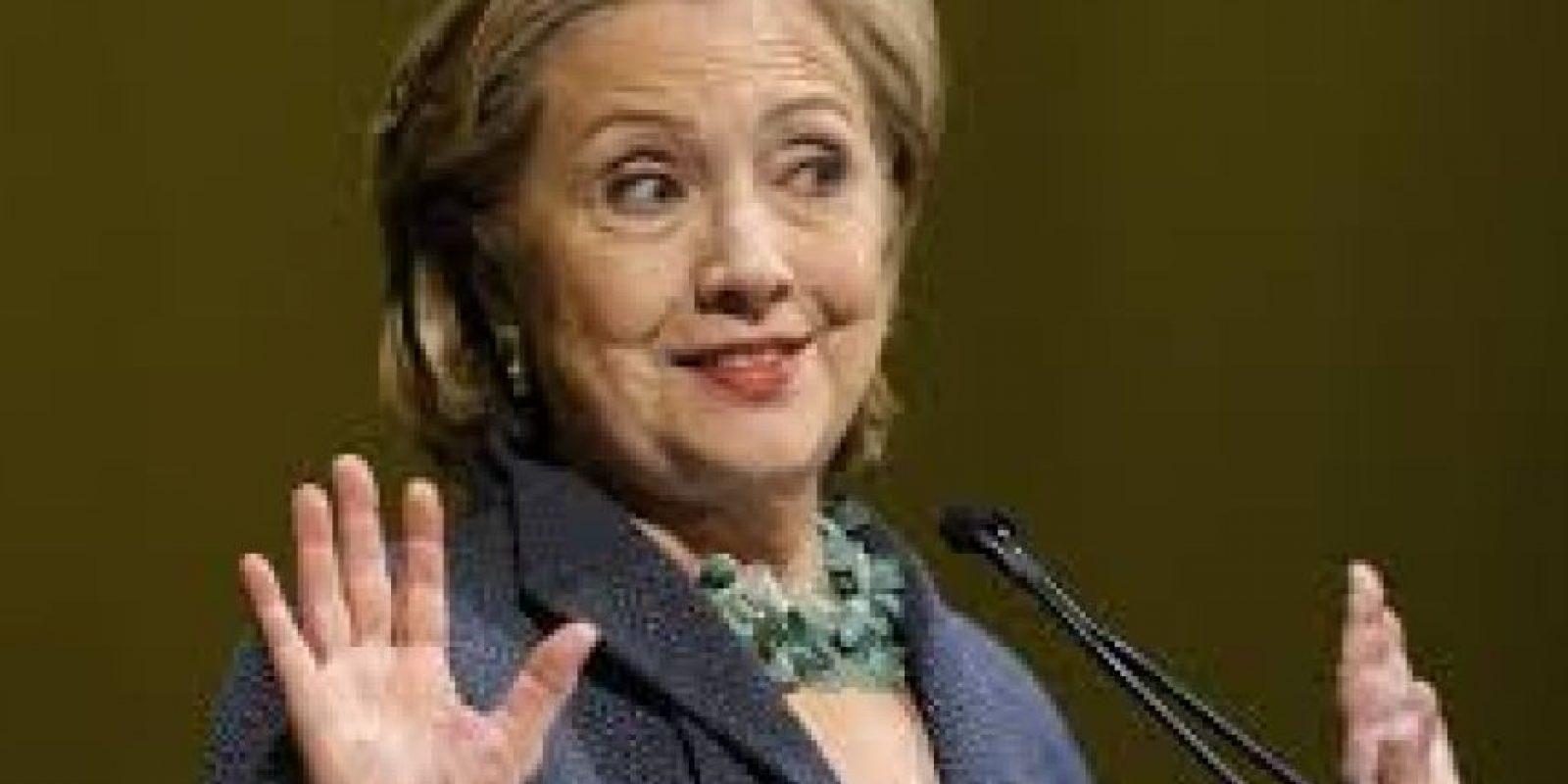La exsecretaria de Estado Hillary Clinton. Foto:Publinews