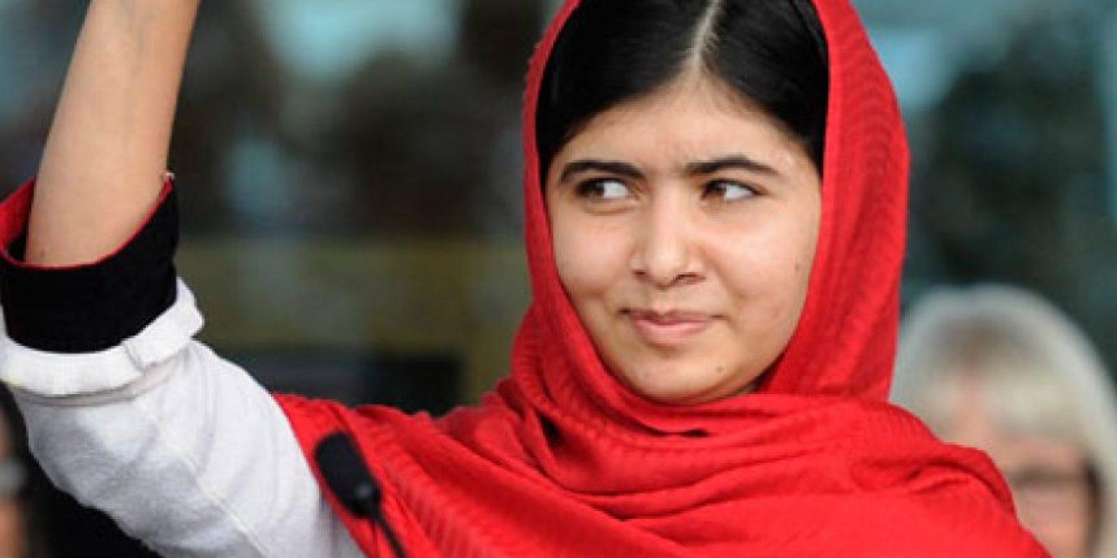 La joven Nobel de la Paz Malala Yousafzai. Foto:Publinews