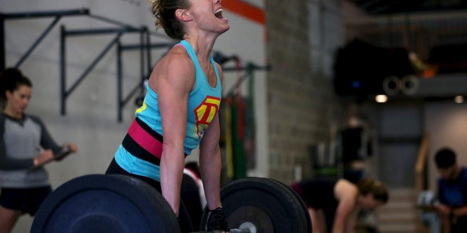 6. Te vas del gimnasio sin estirar Foto:Getty Images