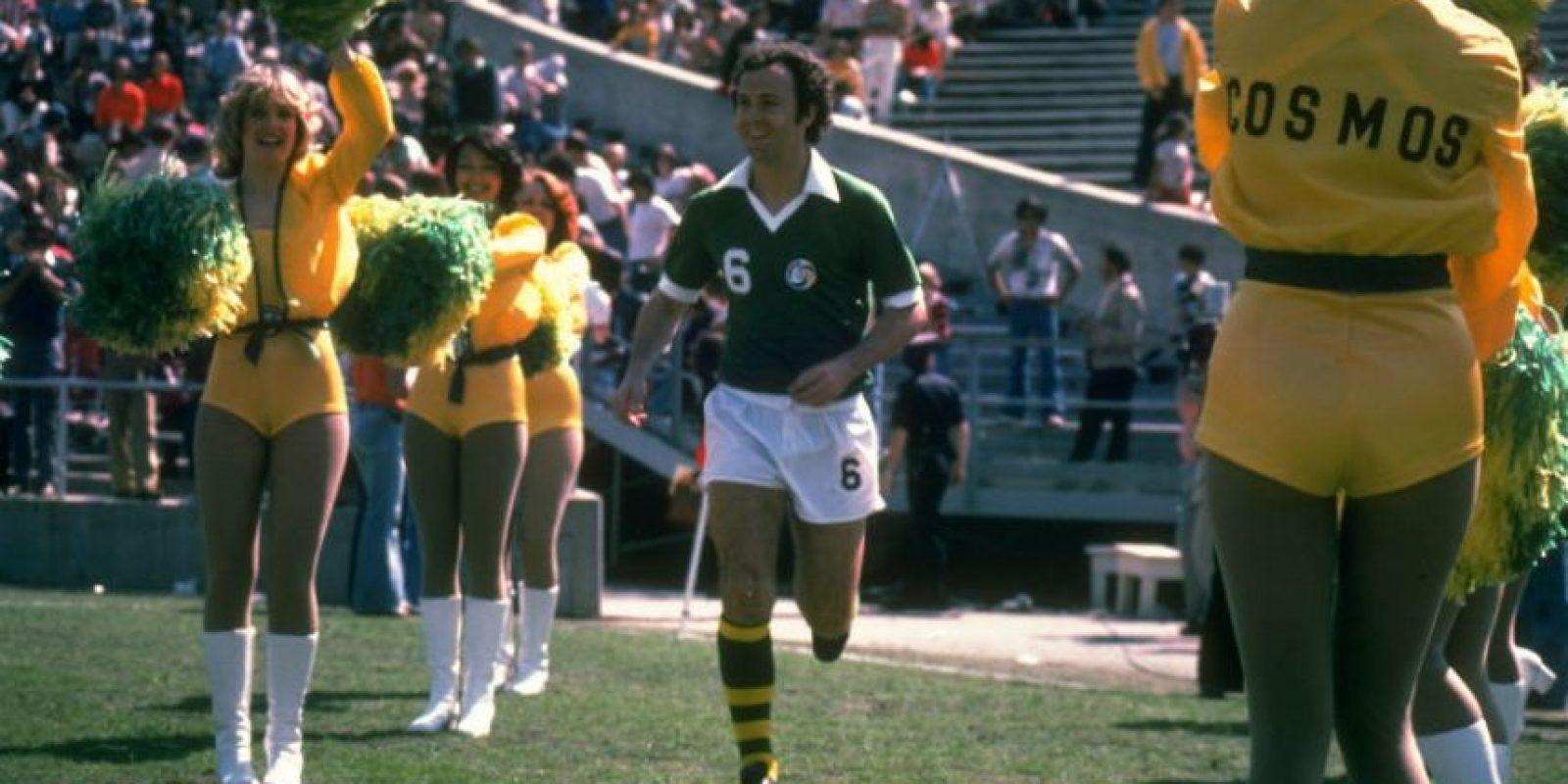 Franz Beckenbauer sería el líder de la defensa Foto:Getty