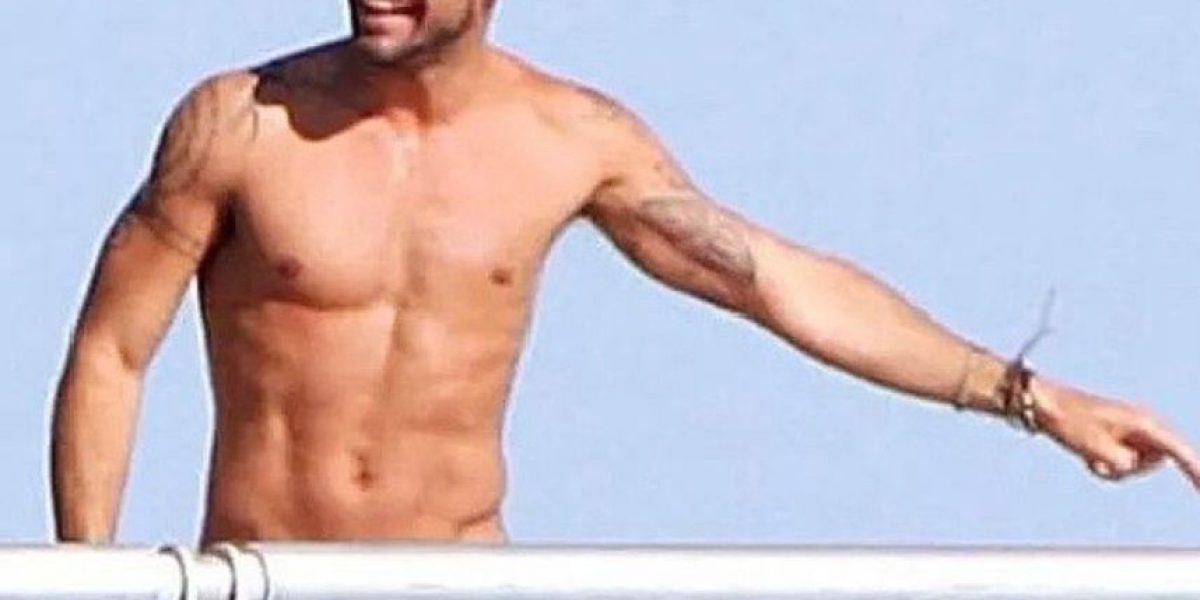 FOTO: Esta podría ser la última selfie de Ricky Martin en 2014