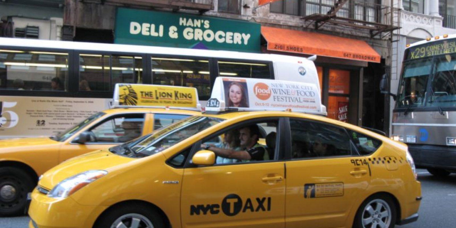 Para pedir un taxi seguro Foto:Wikipedia