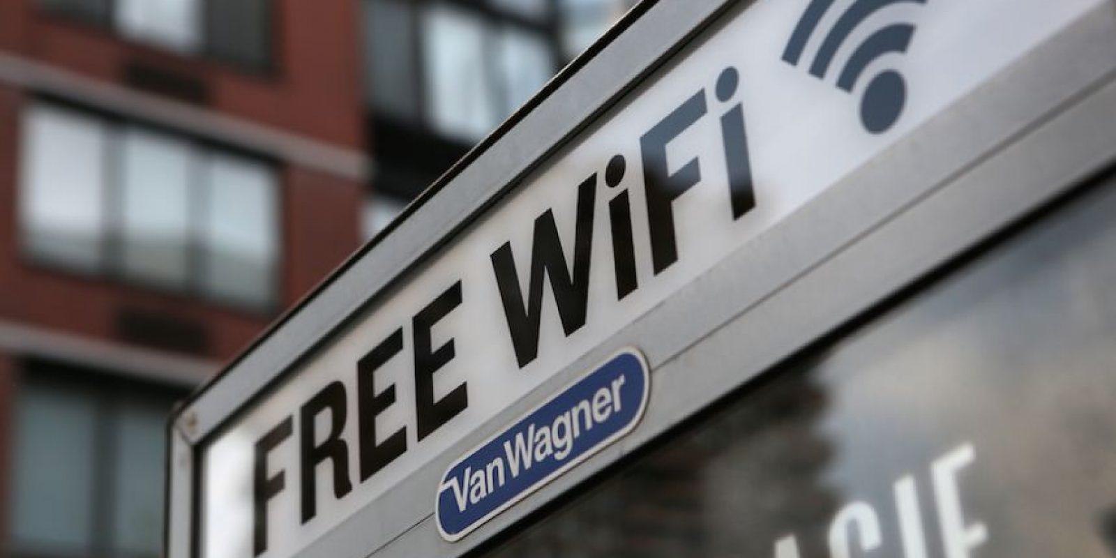 Porque no hay servicio de WiFi Foto:Wikipedia