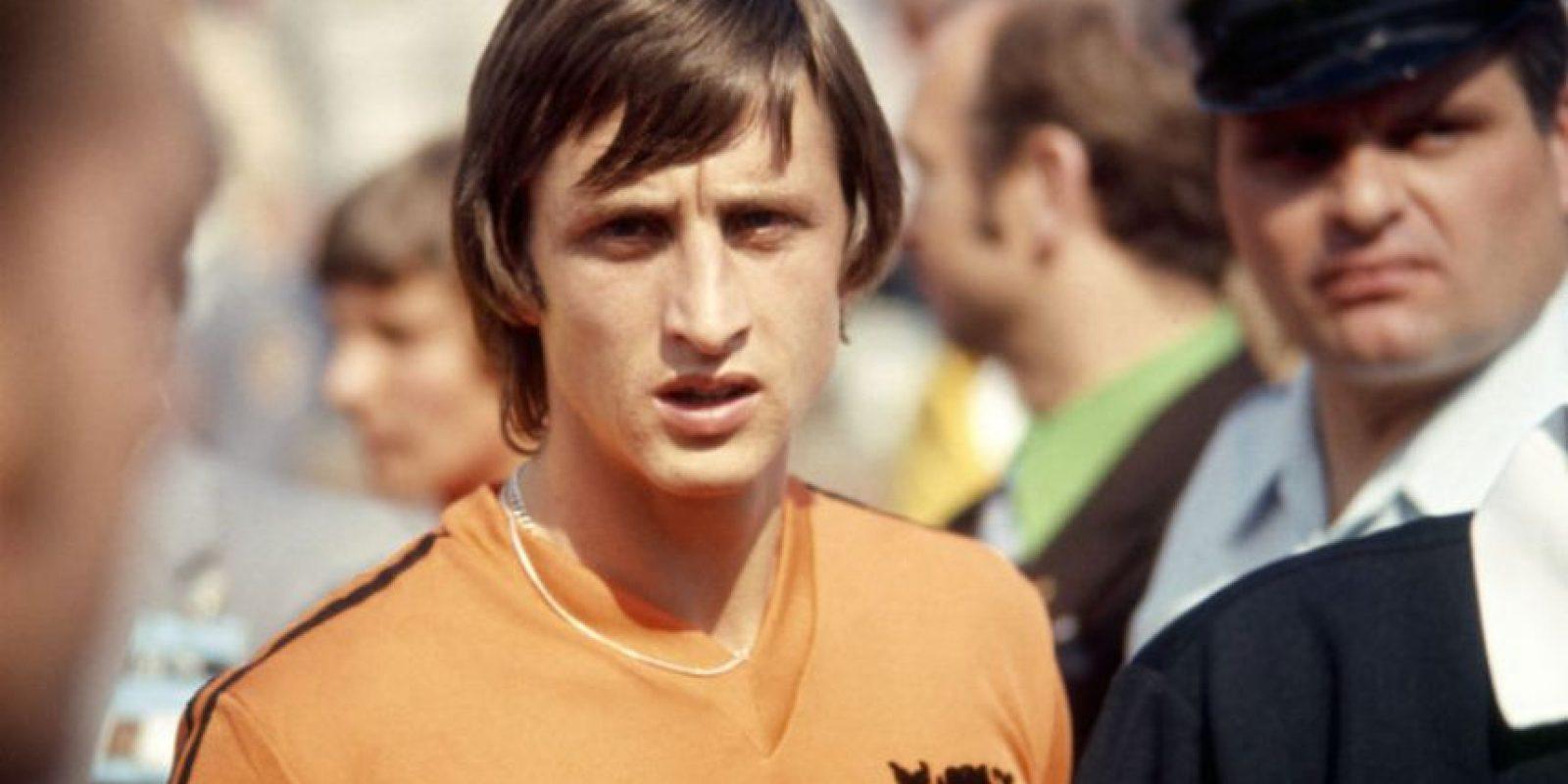 Johan Cruyff también fue seleccionado por el brasileño Foto:Getty