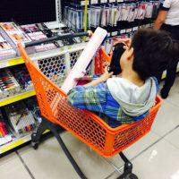 Los cuadernos ya son buscados por los niños. Foto:Luis Molina