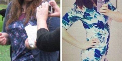 FOTOS: ¡Sorprendente! 27 chicas antes y después de bajar de peso