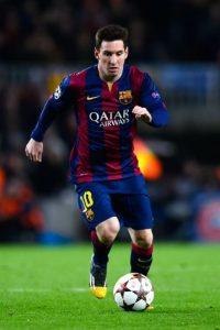 El tridente ofensivo estaría formado por Lionel Messi Foto:Getty
