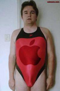 Apple no resulta tan sexy como creía… Foto:Tumblr.com/Tagged-fail-sexy
