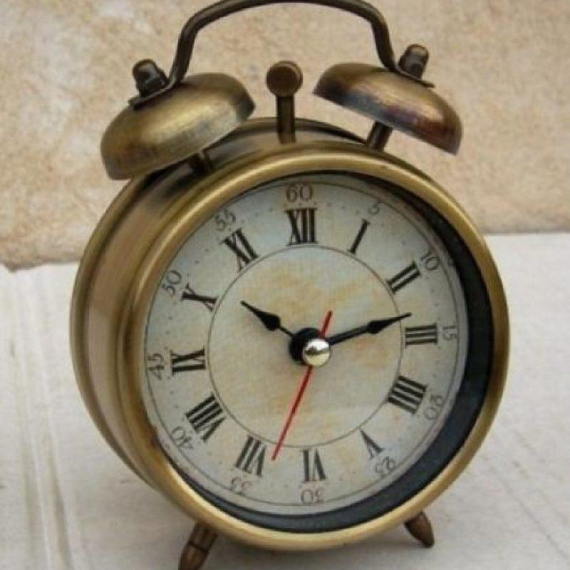6. El reloj despertador antiguo podría mejorar la calidad del sueño, según el experto en sueño Neil Stanley. Esto debido a que la luz puede alterar los niveles de la hormona melatonina, la cual provoca somnolencia. Foto:Pixabay