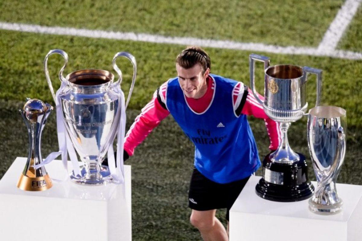 Con el Madrid ha ganado la Copa del Rey Foto:AFP