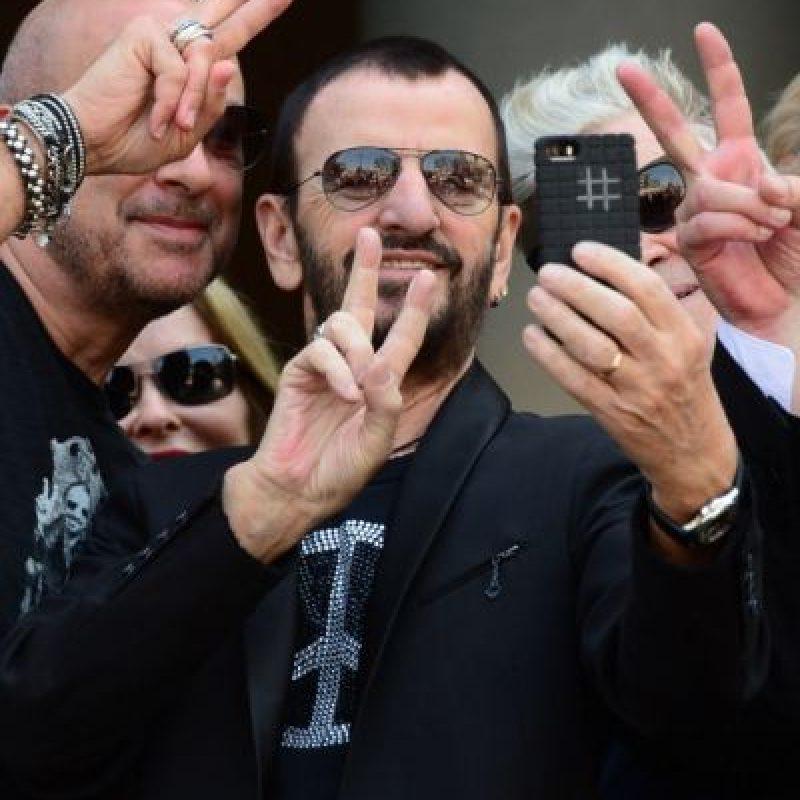 El ex Beatle, Ringo Starr Foto:Getty Images
