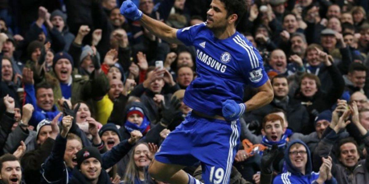 Diego Costa alcanza a Agüero como máximo goleador en Inglaterra