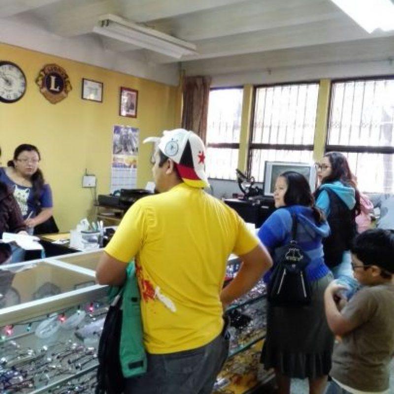 Los exámenes se harán en la 2a. avenida, 0-46 zona 2. Foto:Club de Leones
