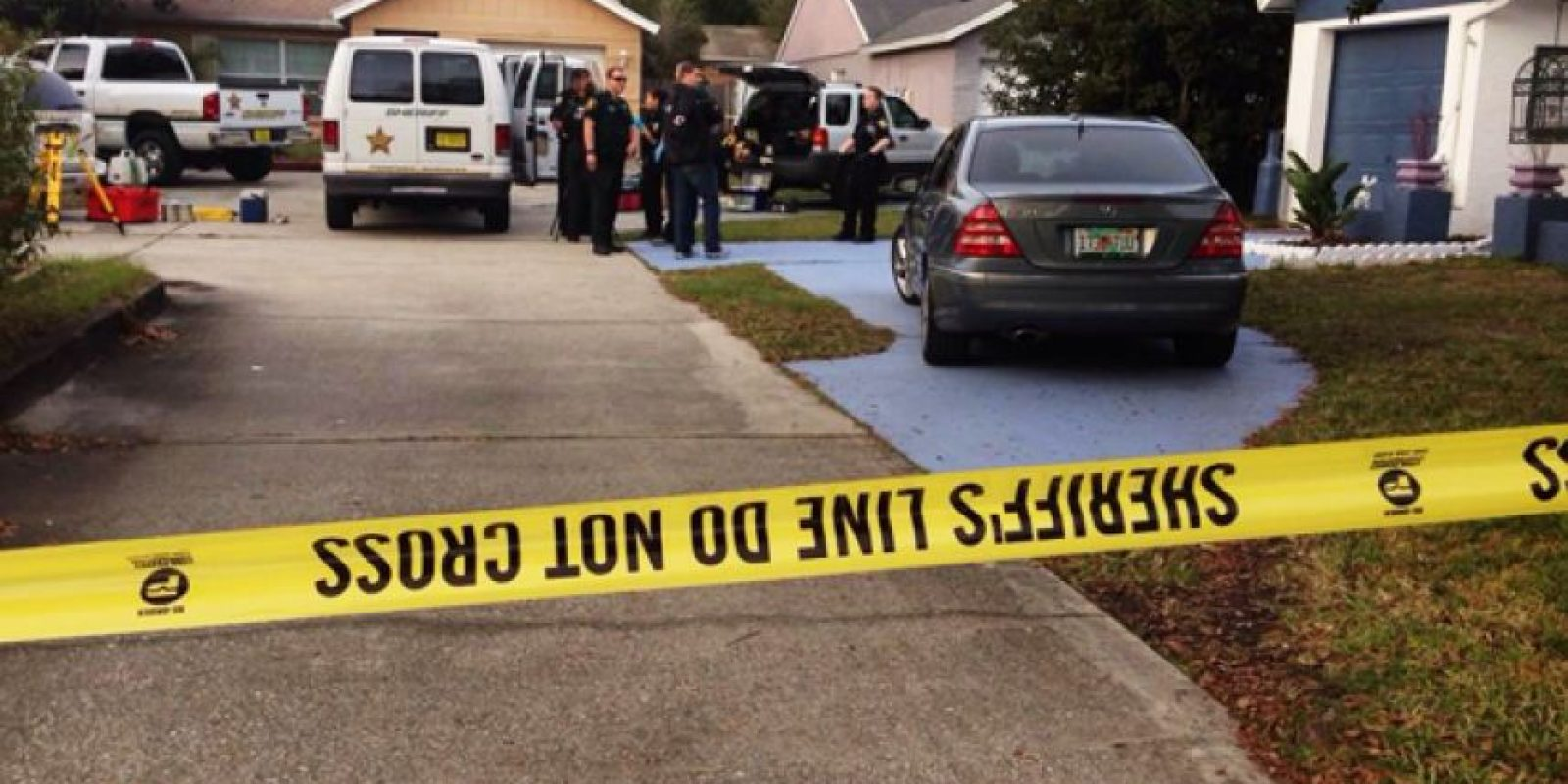 La tragedia ha sucedido en Florida la víspera de Año Nuevo. Foto:AFP