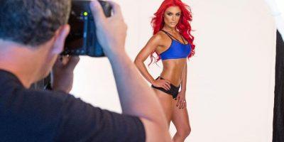 Mira el detrás de cámaras de la sesión de fotos Foto:WWE
