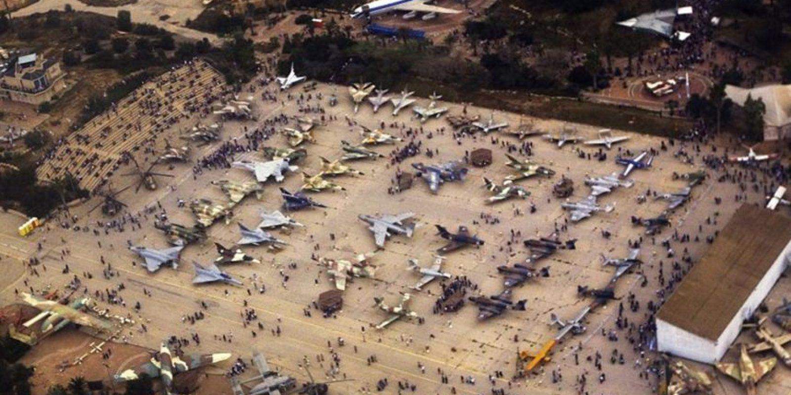 Museo de la fuerza aérea israelí en Beersheba, 6 de mayo. Foto:Publinews