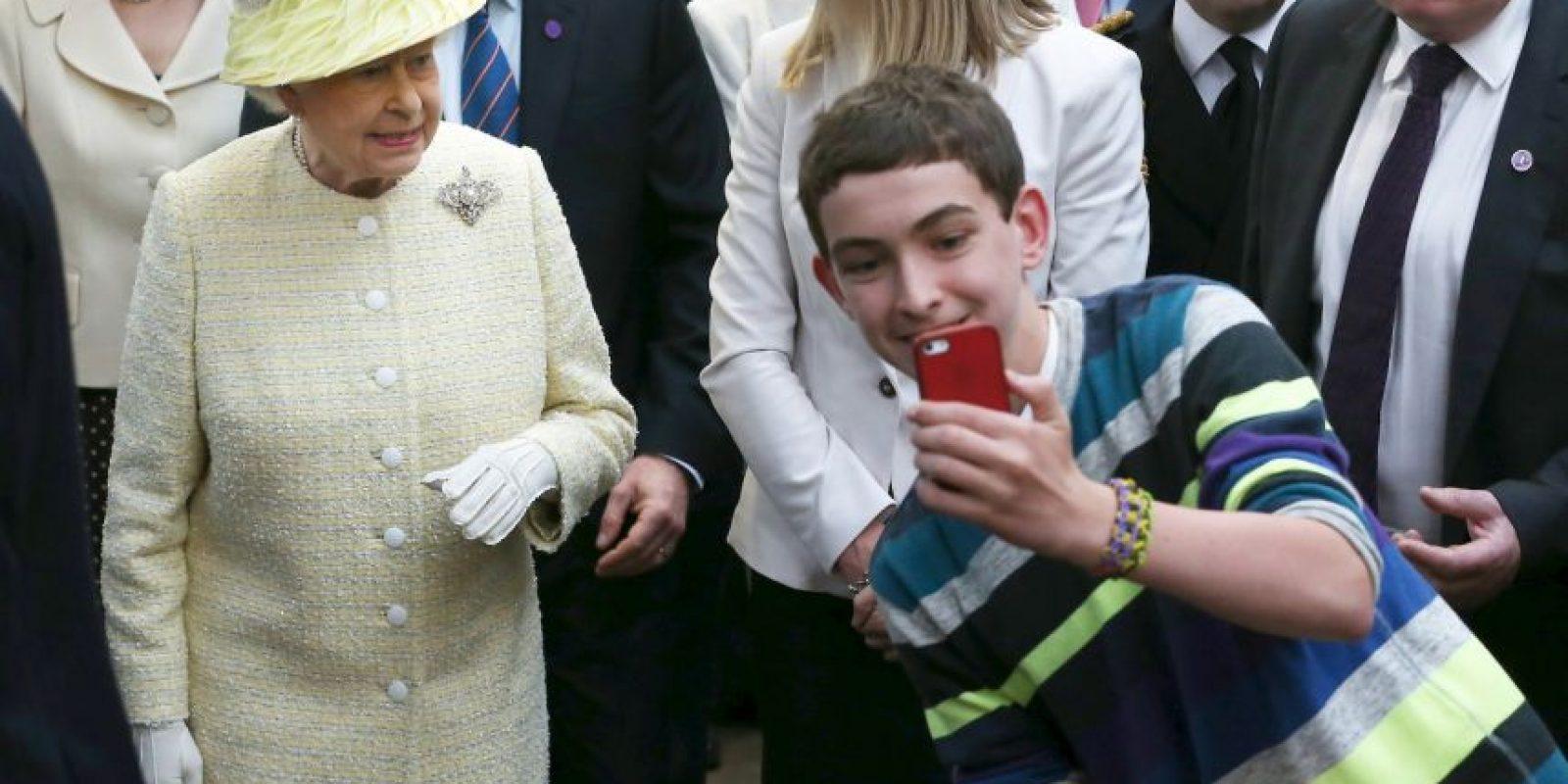 La Reina Isabel II, de Inglaterra Foto:Getty Images