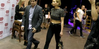 Ella asistió a un concierto del cantante Foto:Getty Images