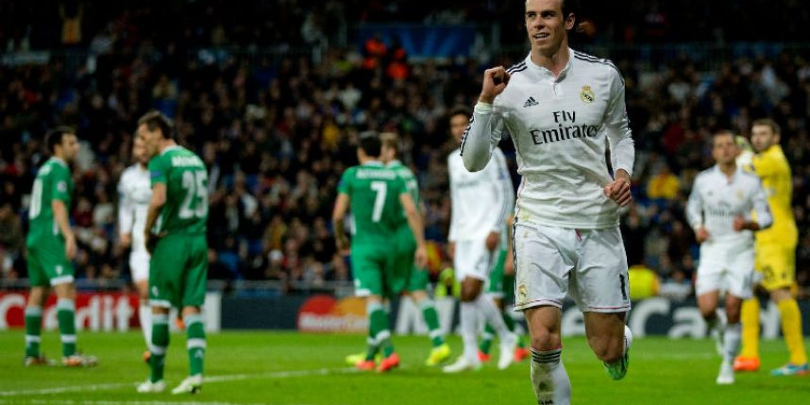 El galés tiene el récord del sprint más rápido del Real Madrid Foto:Getty