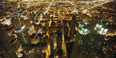 Vista nocturna de Chicago. Foto:Publinews