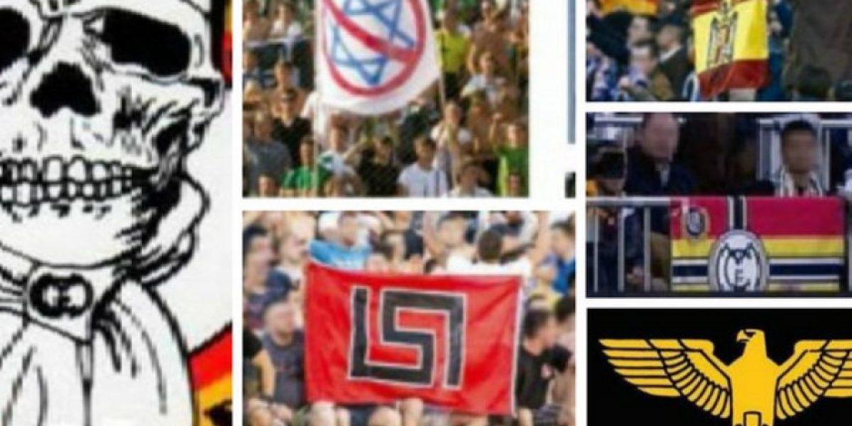 FOTOS: Estos son los símbolos prohibidos en el Santiago Bernabéu