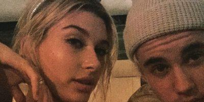 VIDEO: ¡Súper lindos! Justin Bieber recibió el 2015 junto a Hailey Baldwin