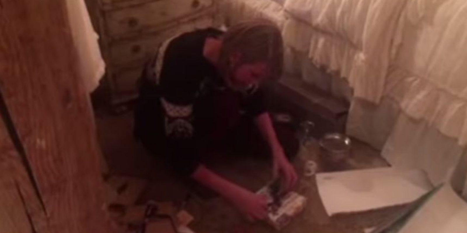 Ella los envolvió Foto:YouTube Taylor Swift