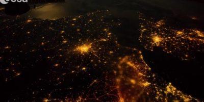 De noche por el mundo Foto:Vía Youtube: European Space Agency, ESA
