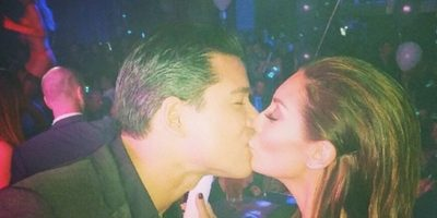 Mario Lopez y Courtney Mazza Foto: Instagram
