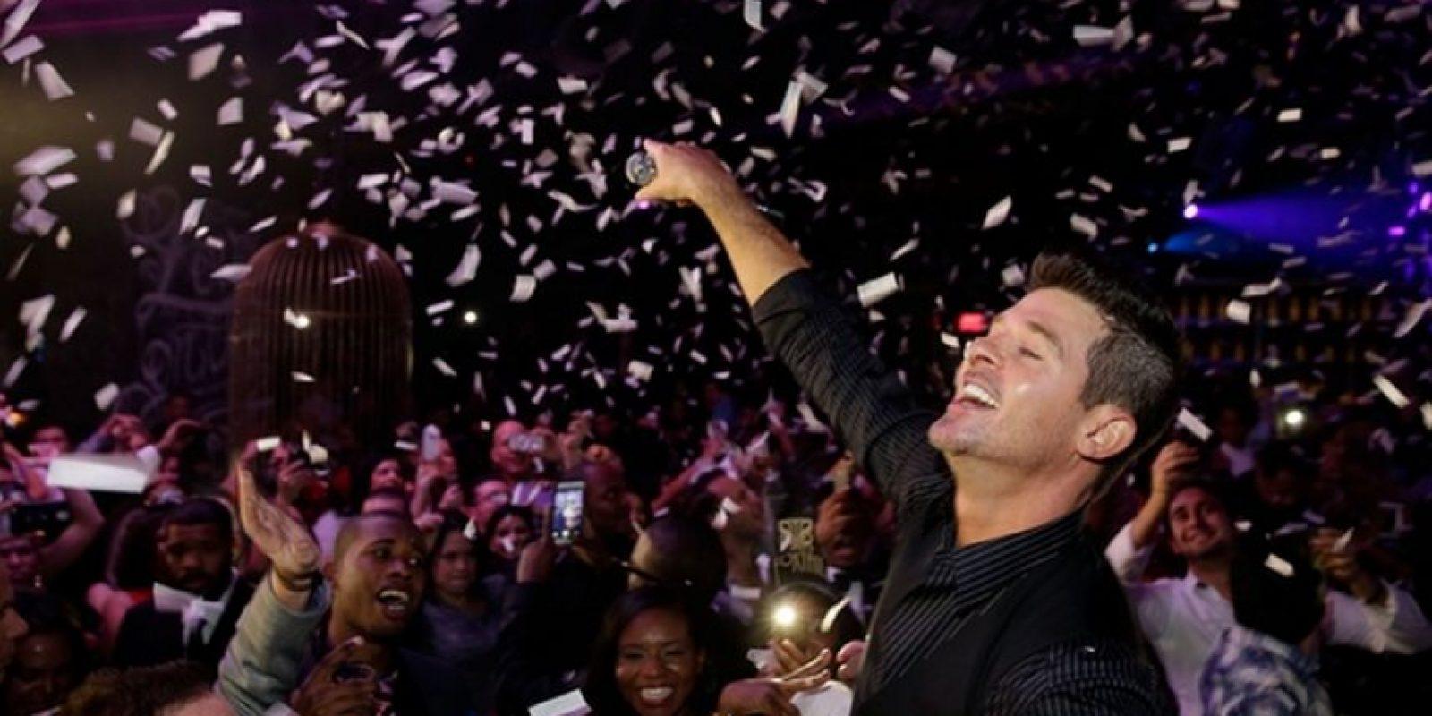 Robin Thicke en Las Vegas Foto:Instagram